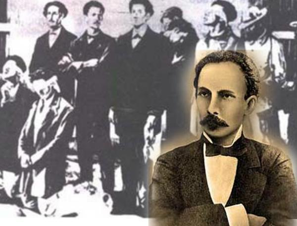 Apenas un año después del triste suceso del fusilamiento a los ocho estudiantes de medicina en el año 1871, José Martí les dedicó un poema en homenaje a los jóvenes.
