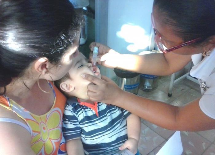Comenzó en Camagüey segunda etapa de vacunación contra la poliomielitis
