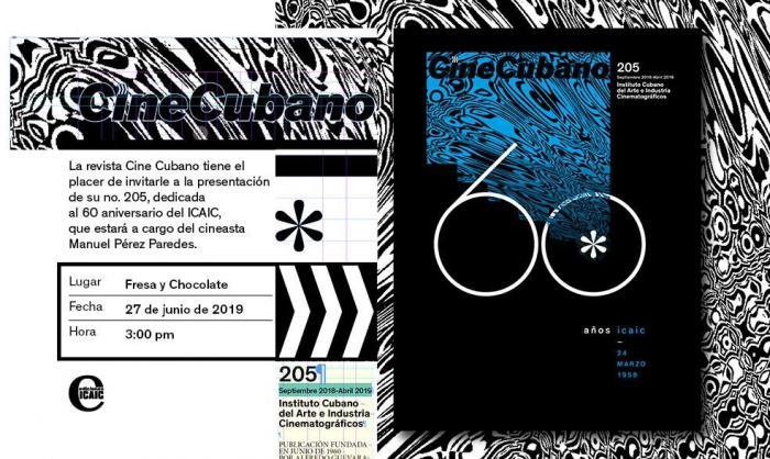Revista de Cine Cubano arriba a sus 60 años de creada