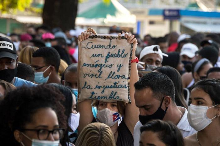 En video: respuesta del pueblo de Cuba a las acciones desestabilizadoras contra la Revolución